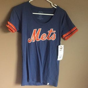 NWT Women's Large New York Mets Fitted T-Shirt